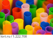 Купить «Трубочки для коктейля различных цветов», фото № 1222708, снято 8 декабря 2007 г. (c) Elnur / Фотобанк Лори