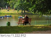 Купить «Отдых людей в парке Кузьминки», эксклюзивное фото № 1222912, снято 4 июля 2009 г. (c) lana1501 / Фотобанк Лори