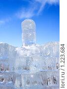 Купить «Ледяная скульптура», фото № 1223684, снято 7 февраля 2009 г. (c) ElenArt / Фотобанк Лори