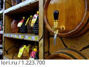 Купить «Бочонок вина», фото № 1223700, снято 7 февраля 2009 г. (c) тб / Фотобанк Лори