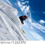 Купить «Горнолыжник», фото № 1223972, снято 25 декабря 2007 г. (c) Максим Горпенюк / Фотобанк Лори