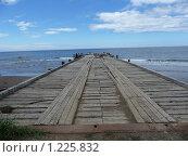 Старая пристань. Стоковое фото, фотограф Таир Сейтхалилов / Фотобанк Лори