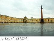Дворцовая площадь. Санкт-Петербург (2008 год). Стоковое фото, фотограф Луговой Даниил / Фотобанк Лори