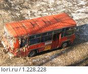 Купить «Автобус ПАЗ», фото № 1228228, снято 20 ноября 2009 г. (c) Зуев Андрей / Фотобанк Лори