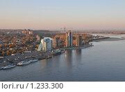 Купить «Река Обь у города Барнаула», эксклюзивное фото № 1233300, снято 1 октября 2009 г. (c) Free Wind / Фотобанк Лори