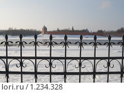 Кованая ограда, Великий Новгород (2009 год). Стоковое фото, фотограф Ярослава Синицына / Фотобанк Лори