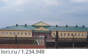 Школа в деревне (2008 год). Стоковое фото, фотограф Игорь Крупин / Фотобанк Лори