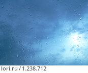 Капли на стекле. Стоковое фото, фотограф Олег Вихарев / Фотобанк Лори