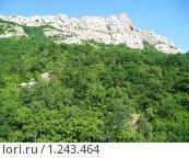 Гора Кизилташ (2008 год). Стоковое фото, фотограф Татьяна Емельянова / Фотобанк Лори
