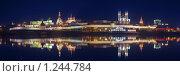 Купить «Вечерняя панорама Казанского кремля», фото № 1244784, снято 26 мая 2018 г. (c) Денис Ларкин / Фотобанк Лори