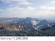 Купить «Уральские горы», фото № 1245960, снято 15 июля 2009 г. (c) Надежда Болотина / Фотобанк Лори
