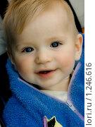 Улыбающийся малыш. Стоковое фото, фотограф Кузнецов Сергей / Фотобанк Лори