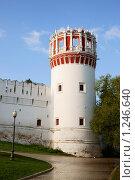 Купить «Дозорная башня Новодевичьего монастыря», фото № 1246640, снято 15 сентября 2009 г. (c) Герман Молодцов / Фотобанк Лори