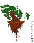 Дерево жизни. Стоковая иллюстрация, иллюстратор Игорь Бахтин / Фотобанк Лори