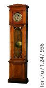 Купить «Напольные часы. Белый фон, изолировано.», фото № 1247936, снято 9 сентября 2009 г. (c) Вадим Орлов / Фотобанк Лори