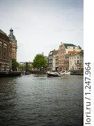 Купить «Каналы Амстердама», фото № 1247964, снято 9 августа 2009 г. (c) Филонова Ольга / Фотобанк Лори