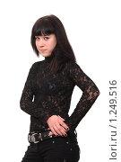 Купить «Модный подросток», фото № 1249516, снято 6 ноября 2009 г. (c) Юрий Викулин / Фотобанк Лори