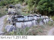 Купить «Непал. Окрестности горы Манаслу», фото № 1251852, снято 29 октября 2009 г. (c) Михаил Ворожцов / Фотобанк Лори