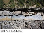 Купить «Непал. Окрестности горы Манаслу», фото № 1251860, снято 30 октября 2009 г. (c) Михаил Ворожцов / Фотобанк Лори