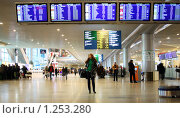 Купить «Аэропорт Домодедово», фото № 1253280, снято 15 декабря 2008 г. (c) Андрей Аркуша / Фотобанк Лори