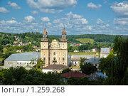 Купить «Монастырь бернардинцев», фото № 1259268, снято 3 июля 2008 г. (c) Сергей Разживин / Фотобанк Лори