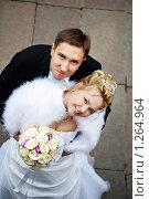 Купить «Молодожены», фото № 1264964, снято 26 ноября 2009 г. (c) Сергей Рыжов / Фотобанк Лори