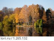 Купить «Зеркало осени», фото № 1265132, снято 18 октября 2009 г. (c) Роман Мухин / Фотобанк Лори