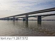 Купить «Мосты Новосибирска», фото № 1267572, снято 11 октября 2009 г. (c) Виктор Ковалев / Фотобанк Лори