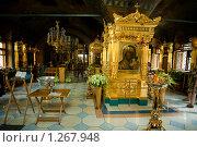 Купить «В Церкви Святой Варвары на Таганке (Москва)», фото № 1267948, снято 19 июля 2009 г. (c) Филонова Ольга / Фотобанк Лори