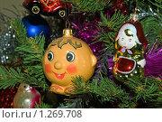 Украшения на ёлке, эксклюзивное фото № 1269708, снято 5 января 2009 г. (c) Константин Косов / Фотобанк Лори