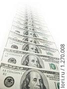 Купить «Тающая полоска долларов», фото № 1270008, снято 27 октября 2007 г. (c) Elnur / Фотобанк Лори