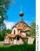 Купить «Церковь Святого Духа. Смоленск, Фленово», фото № 1275424, снято 10 июня 2008 г. (c) HelgaTor / Фотобанк Лори