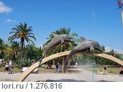 Купить «Памятник в Пицунде», фото № 1276816, снято 28 августа 2009 г. (c) Мастепанов Павел / Фотобанк Лори