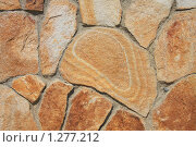 Купить «Фон из полосатого песчаника», фото № 1277212, снято 29 августа 2008 г. (c) Галина Бурцева / Фотобанк Лори