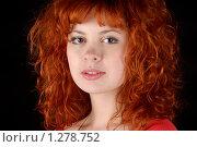 Купить «Рыжеволосая девушка», фото № 1278752, снято 7 декабря 2009 г. (c) Шабанов Дмитрий / Фотобанк Лори