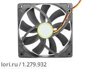 Купить «Компьютерный вентилятор. Изолировано», фото № 1279932, снято 9 декабря 2009 г. (c) Vitas / Фотобанк Лори