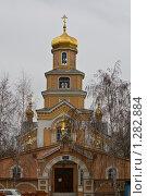 Тихвинский Бузулукский женский монастырь (2009 год). Стоковое фото, фотограф Александр Подобедов / Фотобанк Лори