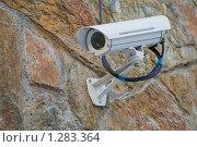 Купить «Камера на стене», фото № 1283364, снято 28 ноября 2009 г. (c) Slasha / Фотобанк Лори