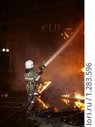 Купить «Пожар», фото № 1283596, снято 7 декабря 2009 г. (c) Татьяна Белова / Фотобанк Лори
