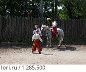 Купить «Сватание невесты», фото № 1285500, снято 10 сентября 2004 г. (c) Галина  Горбунова / Фотобанк Лори