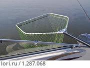 Купить «Подсачек для рыбы», фото № 1287068, снято 8 апреля 2009 г. (c) Алёшина Оксана / Фотобанк Лори
