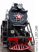 Старинный паровоз (2009 год). Редакционное фото, фотограф Наталия Жильцова / Фотобанк Лори