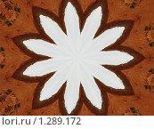 Купить «Абстрактный фон. Белый цветок», фото № 1289172, снято 20 сентября 2007 г. (c) Илюхина Наталья / Фотобанк Лори