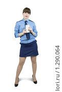 Купить «Девушка-милиционер», фото № 1290064, снято 15 ноября 2009 г. (c) Яков Филимонов / Фотобанк Лори