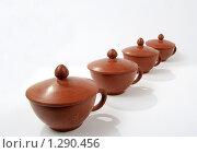 Чайные чашки. Стоковое фото, фотограф Виктор Пашин / Фотобанк Лори