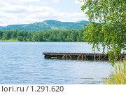Купить «Озеро Линево, Красноярский край», фото № 1291620, снято 19 июня 2009 г. (c) Ирина Солошенко / Фотобанк Лори