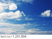 Небо с облаками. Стоковое фото, фотограф Владислав Иванов / Фотобанк Лори