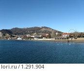 Панорама Судака (2009 год). Стоковое фото, фотограф Оксана Кулиненко / Фотобанк Лори