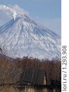 Извержение Корякского вулкана. Стоковое фото, фотограф Никитина Жанна / Фотобанк Лори