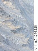 Купить «Морозный узор на стекле», фото № 1294928, снято 15 декабря 2009 г. (c) Ольга Полякова / Фотобанк Лори